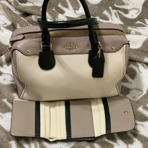 Coach Bennet Bag and matching wallet